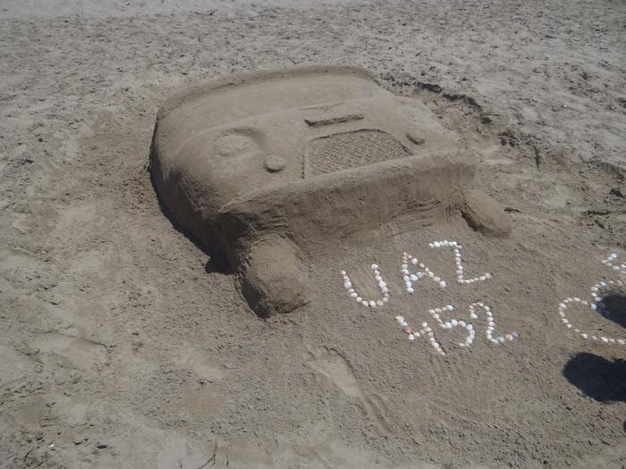 Буханка на пляжах Антальи
