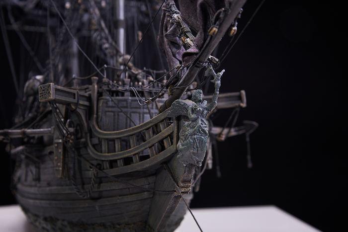 """В тайнике Дейви Джонса. Модель корабля """"Черная жемчужина"""". С сюжетом))) Черная жемчужина, Пираты карибского моря, Ручная работа, Модели из дерева, Стендовый моделизм, Длиннопост"""