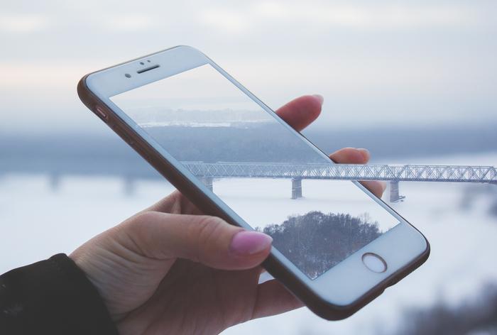 Ж/д мост через р.Белую-iPhone Начинающий фотограф, Фотография, Canon, Iphone, Уфа, Мост
