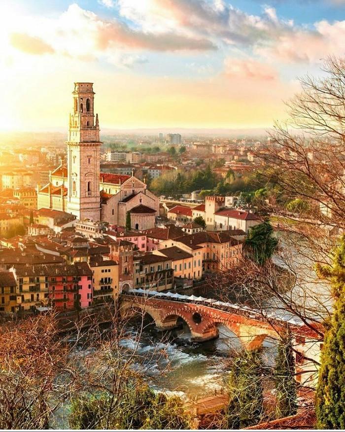 Верона, Италия.