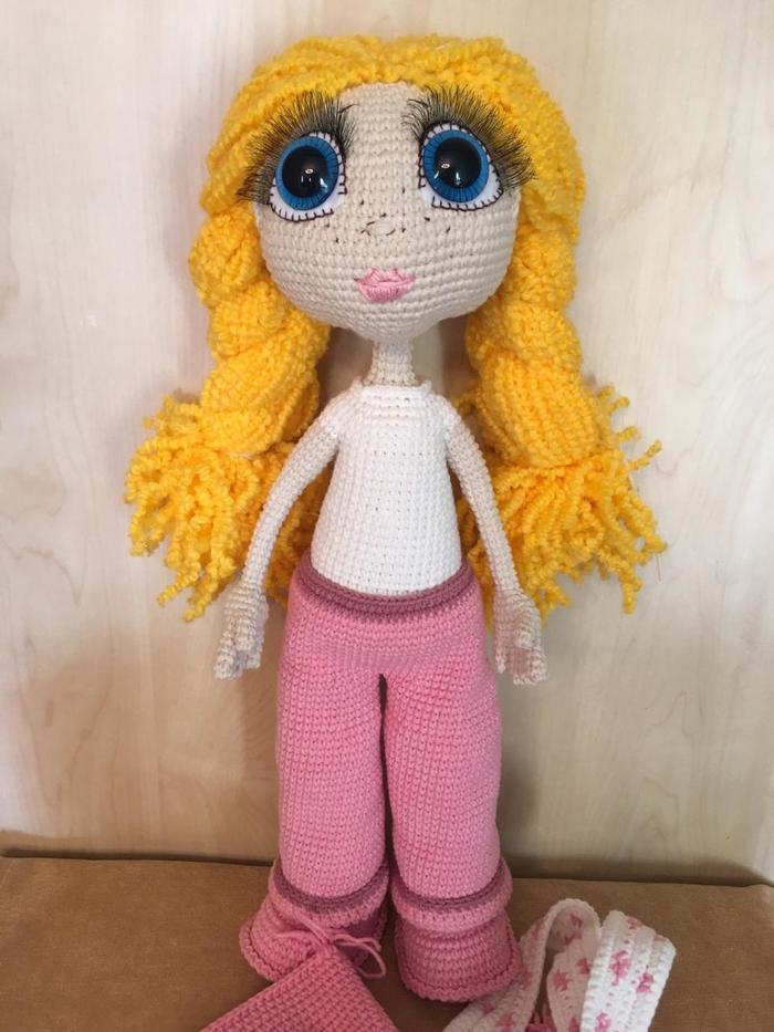 Куколка Сноубордистка. Амигуруми, Вязание, Своими руками, Ручная работа, Сноуборд, Handmade, Кукла, Рукоделие без процесса, Длиннопост