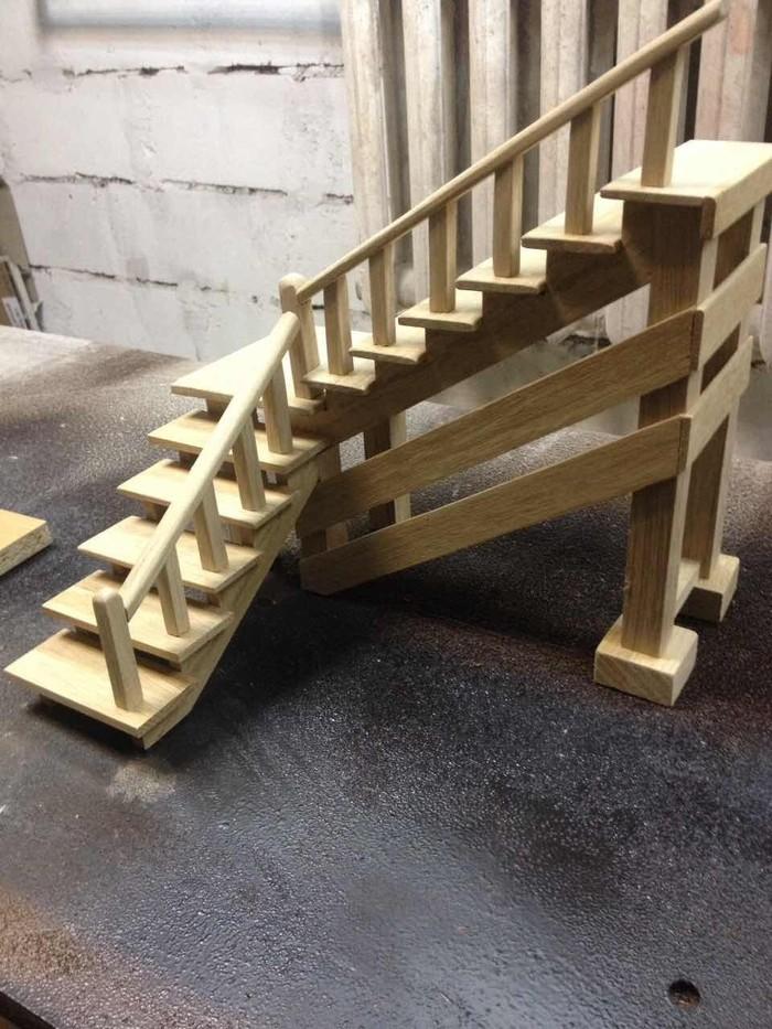 Лестницы в мини версии Лестница, В миниатюре, Длиннопост
