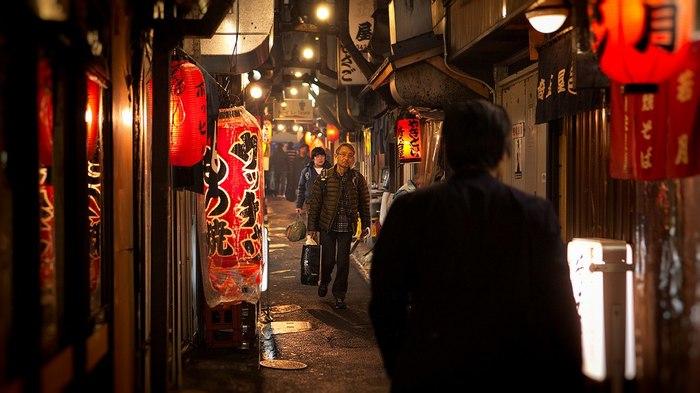 Япония.Огни Япония, Фотография, Огни, Улицы, Длиннопост