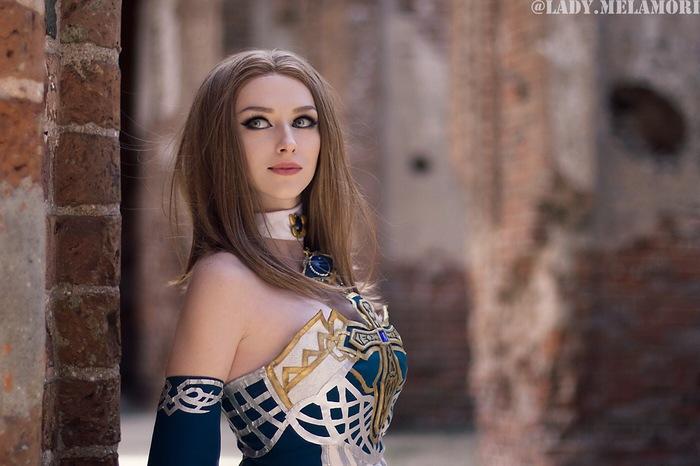 Sorcerer Косплей, Русский косплей, Lineage, Lineage 2, Линейка, MMORPG, Sorcerer, Lady Melamori, Длиннопост