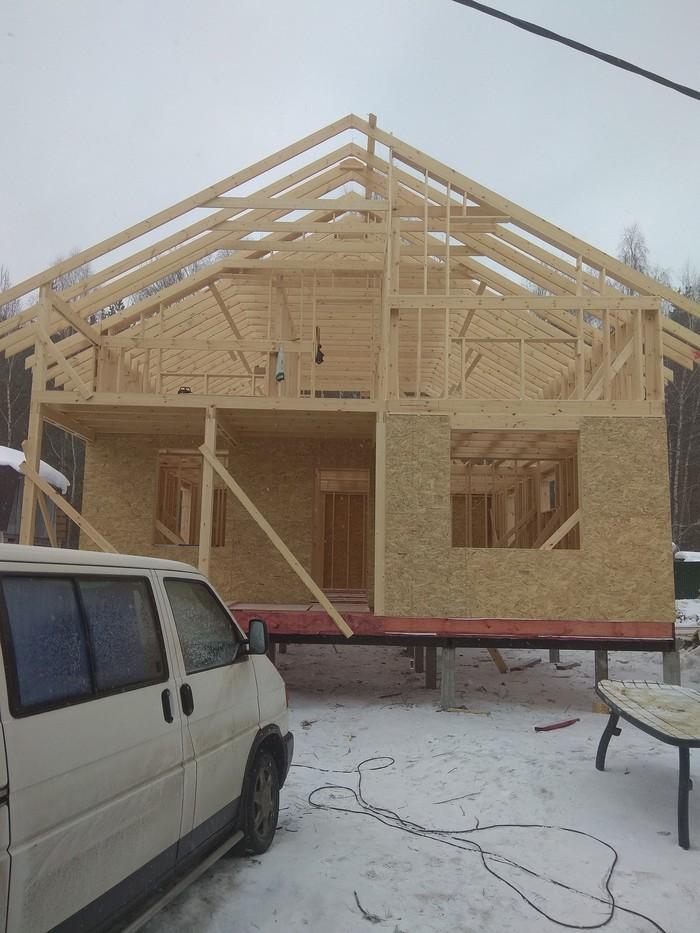 Как мы строим дом. Часть пятая. Земельный участок, Строительство, Каркасный дом, Длиннопост