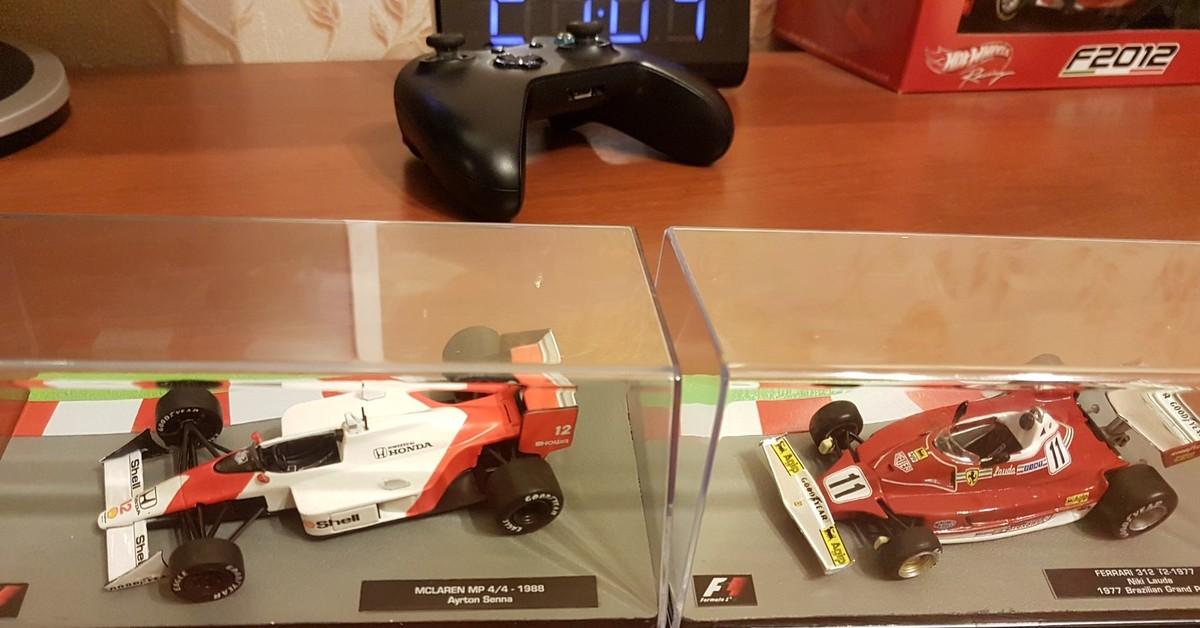 Formula 1 Auto Collection начало