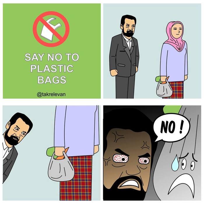 """Скажи """"НЕТ"""" пластиковым пакетам"""