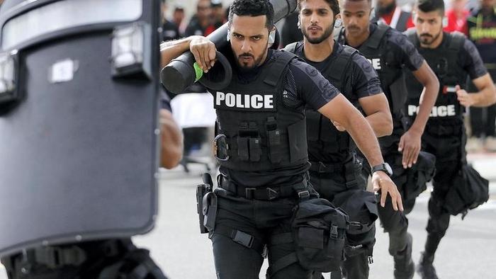 Спецподразделения полиции со всего мира встретились в Дубае Спецназ, Русский спецназ, Оаэ, Соревнования