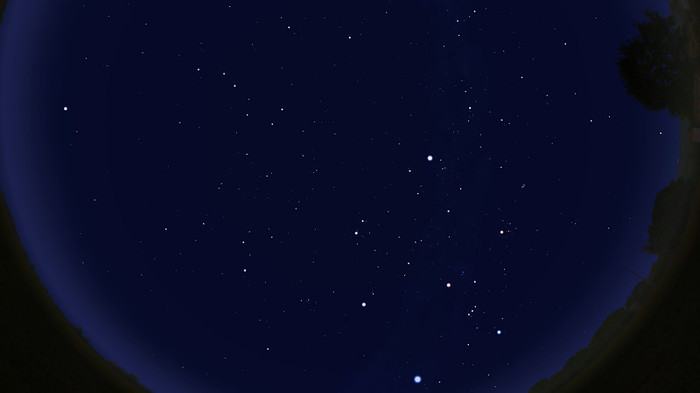 Звёздное небо февраля 2019 Статья, Астрономия, Созвездия, Космос, Гифка, Длиннопост