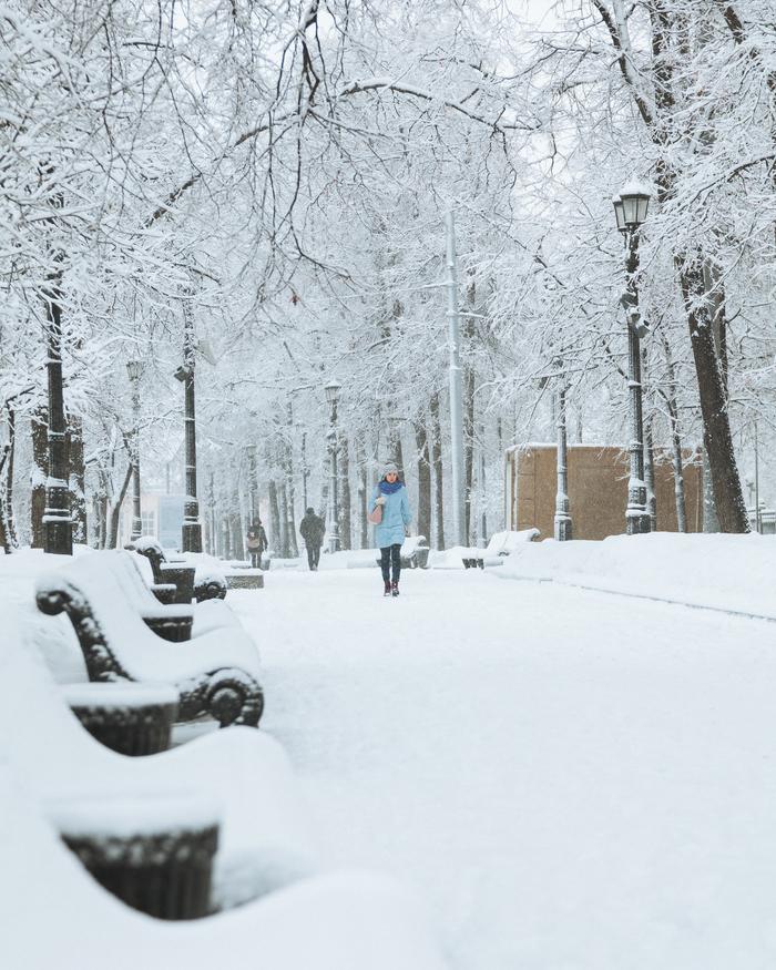самое зима на бульварах москвы фото середины