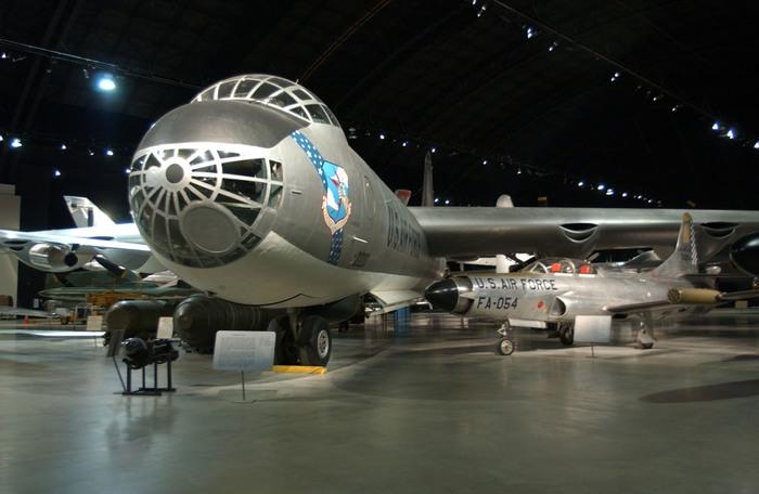 XF-85 Goblin.Маленький друг большого бомбера. Американские самолеты, Истребитель, Гоблин, Длиннопост