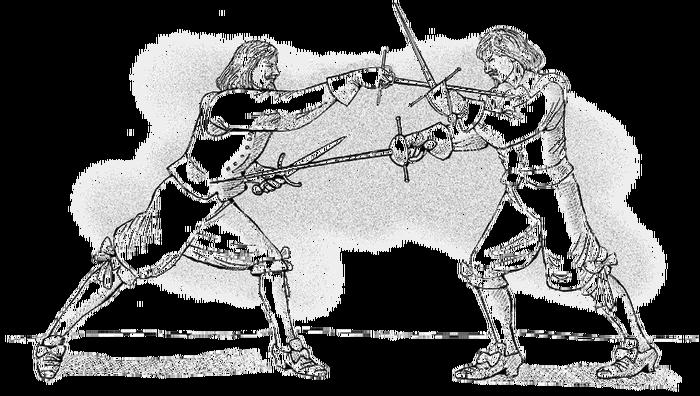 О принципах фехтования Фехтование, Историческое фехтование, История, Длиннопост, Hema