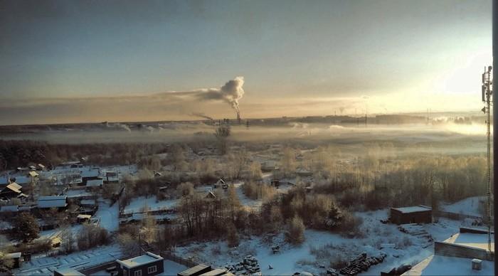 Окраина Рыбинска