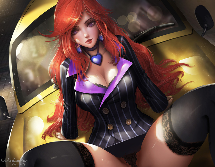 Miss Fortune Art Арт, Windwalker, League of Legends, Miss Fortune, Девушки