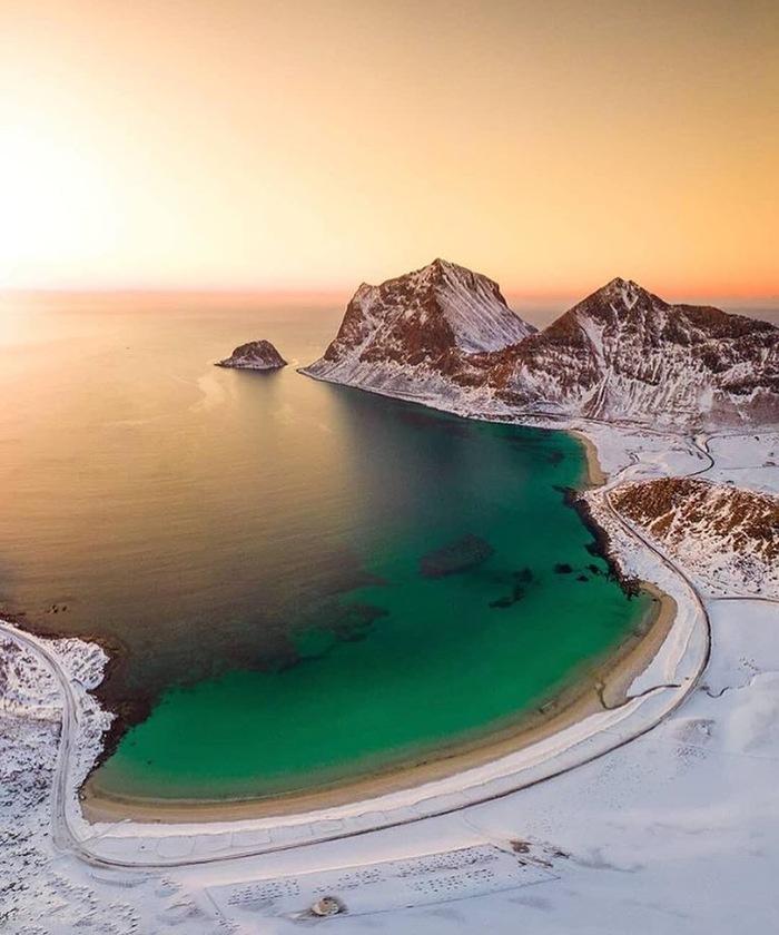 Норвегия. Лофотенские озёра