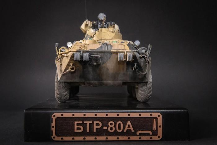 БТР-80А, Trumpeter Стендовый моделизм, Бтр-80а, Бронетехника, Длиннопост
