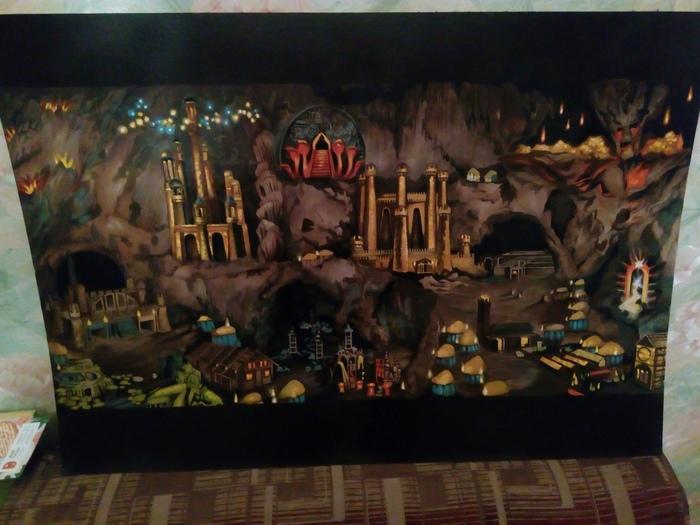 Темница Картина, Герои меча и магии, HOMM III