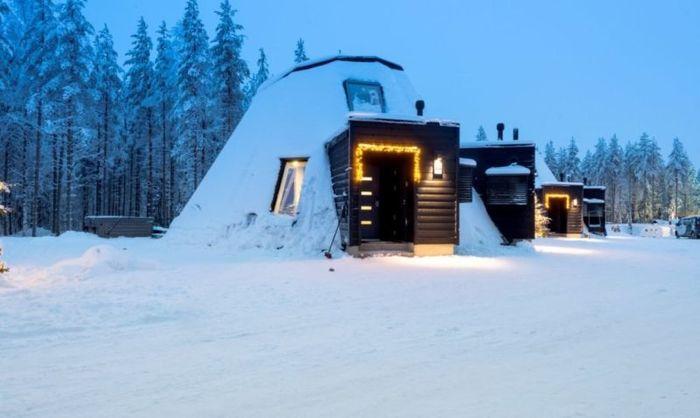Иглу. Финляндия, Строительство, Экология, Архитектура, Новые технологии, Иглу