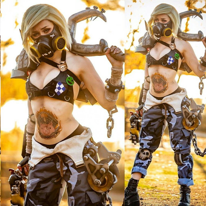 Roadhog by Sammyscosplay (Overwatch) Косплей, Overwatch, Roadhog, Длиннопост