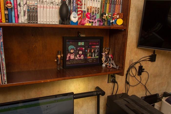 Диорама VA-11 HALL-A Диорама, Shadowbox, Крафт, Подарок, Va-11 hall-a, Визуальная новелла