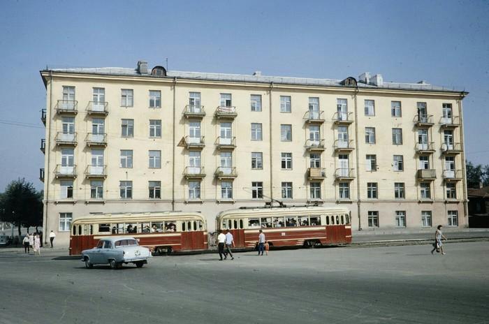 Иркутск 1964 год Иркутск, СССР, История в фотографиях, 60-е, Длиннопост, Фотография, Старое фото