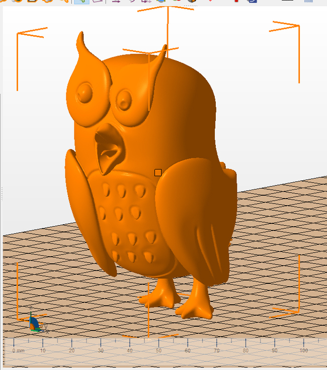 Сова модель для печати. Фанфики об эффективной сове, 3D модель, Фан-Арт
