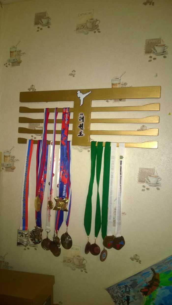 Вешалка для медалей Вешалка, Рукоделие без процесса, Медали, Длиннопост