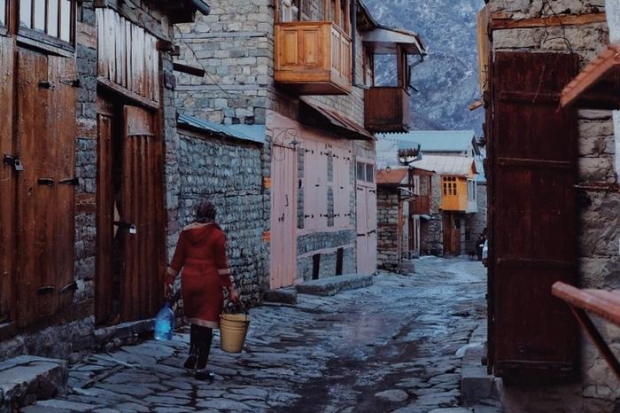 Лагич. Одна из самых опасных дорог Азербайджана Азербайджан, Горы, Дорога, Путешествия, Фотография, Блог, Длиннопост