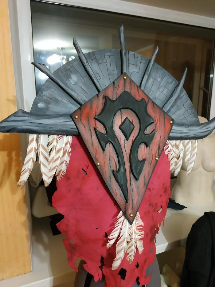 Процесс создания знамени фракции Орда World of warcraft, Horde, Craft, Paint, Paint Master, Туториал, Сильвана Ветрокрылая, Blizzard, Видео, Длиннопост