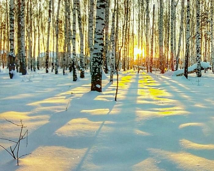 Романтичный зимний вечер