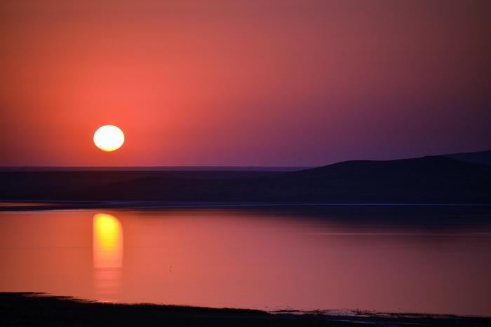 Я вижу, как закат... Длиннопост скучающих по лету и путешествиям. Фото закатов из нашего мотопробега лета 2018 Мотоциклы, Путешествия, Крым, Лето, Закат, Фотография, Мотопробег, Длиннопост