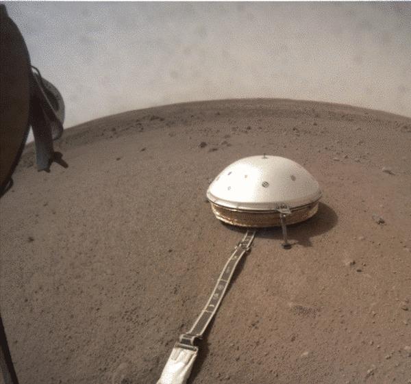 Готовимся долбить Марс Марс, Insight, Космос, Гифка, Длиннопост
