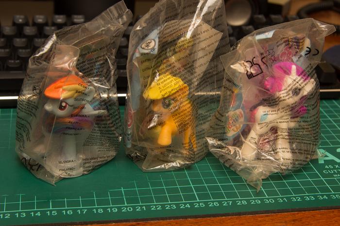 Отдам игрушки ХэппиМил My Little Pony, Фигурка, Макдоналдс, Хэппи мил, Отдам