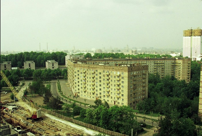 Москва 1987 год Москва, СССР, История в фотографиях, 80-е, Длиннопост