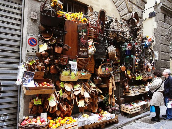 Лавка торговца. Флоренция