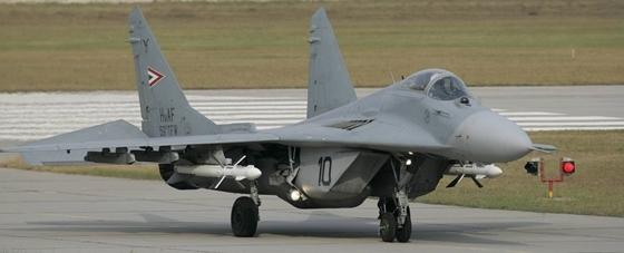 МИГ-29 ВВС Венгрии. Самолеты СССР, Венгрия, Миг-29, Длиннопост