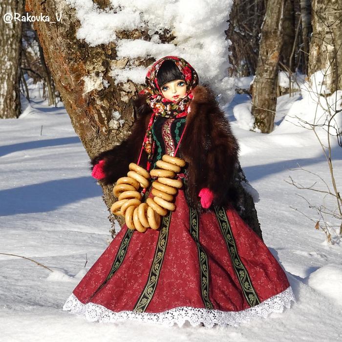 Рашен клюква))) Зима, Милота, Кукла, Клюква, Шарнирная кукла, Длиннопост