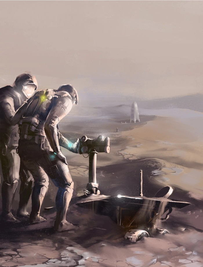 Он займет достойное место в музее Марса.