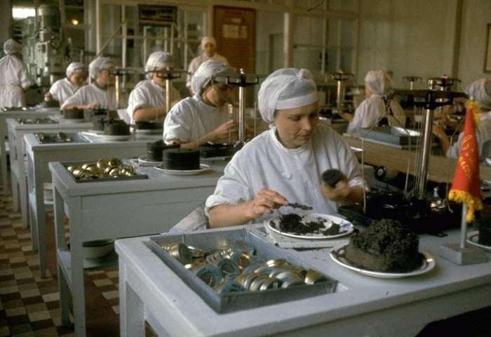 Вот так добывали черную икру в СССР! Черная икра, СССР, Сделано в СССР, Назад в СССР, Старое фото, Длиннопост