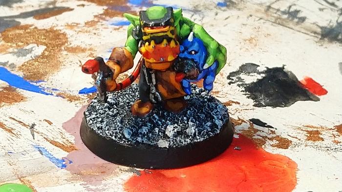 Грот смазчик Orks, Орки, Grot, Warhammer 40k, Wh miniatures