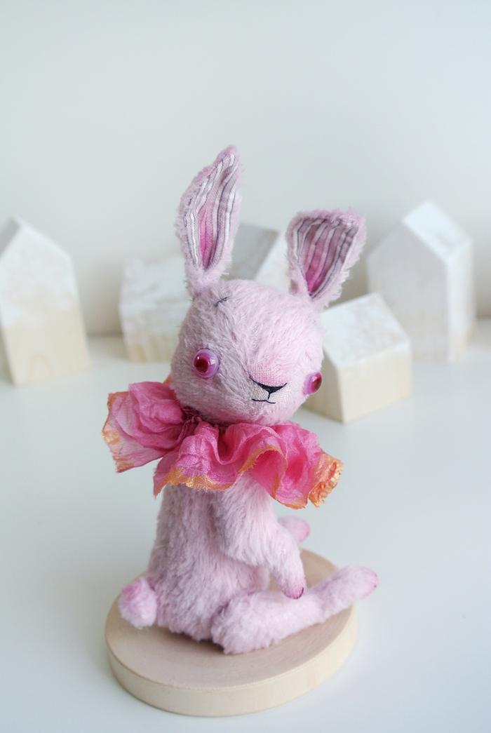 Подозрительный заяц Длиннопост, Рукоделие без процесса, Авторская игрушка, Своими руками