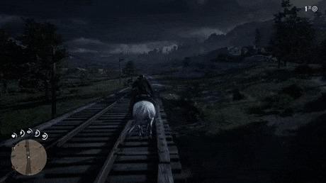 Кинематографическая камера в RDR2 подчеркивает самые эпичные моменты Red Dead Redemption 2, Игры, Компьютерные игры, Видеоигра, Юмор, Гифка
