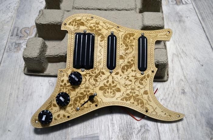 DIY гитара из Китая. Часть 2. Pickguard Электрогитара, Pickguard, Aliexpress, Гитара, Видео, Длиннопост