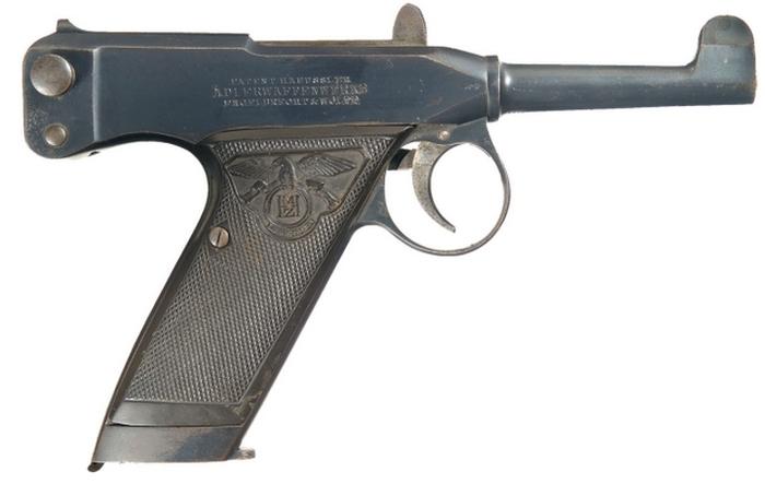 ПистолетAdler Редкое и необычное оружие, Пистолеты, Видео, Длиннопост
