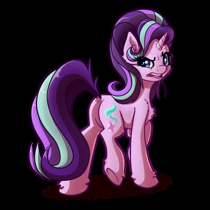 Старлайт не одобряет. My Little Pony, Ponyart, Starlight Glimmer, Witchtaunter