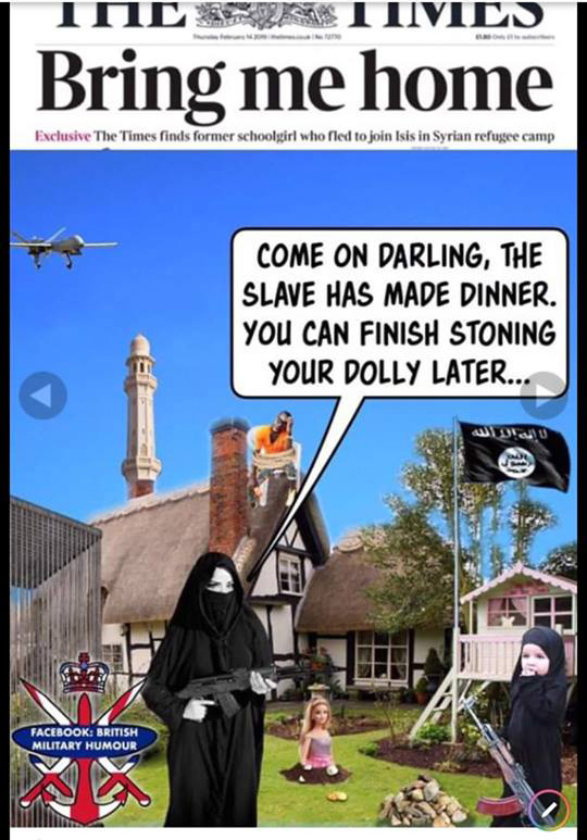 Британский неполиткорректный военный юмор ИГИЛ, Англия, Толерантность
