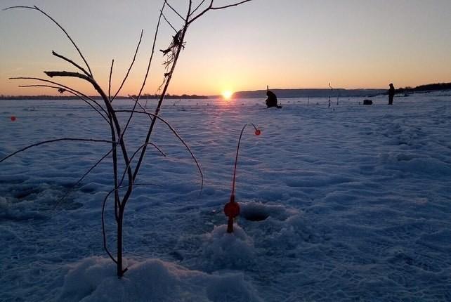 Красота Рыбалка, Природа, Зима, Костер, Чай