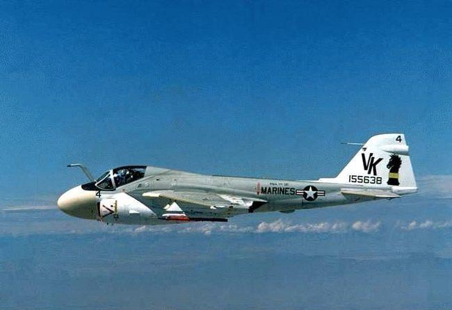 """А-6/ЕА-6 Intruder.""""Железный головастик"""" с авианосца. Американские самолеты, Штурмовик, Интрудер А-6, Длиннопост"""
