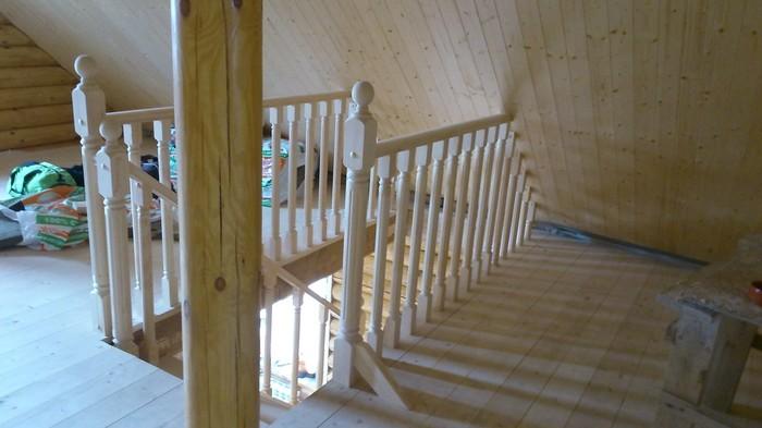 Сосновая лестница Лестница, Баня, Деревянный дом, Дизайн интерьера, Дизайн