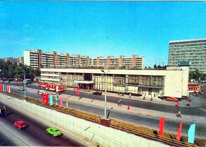 Донецк 1989 год Донецк, СССР, Историческое фото, 80-е, Длиннопост